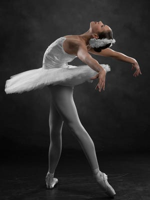 """Jillian Grall in Tallahassee Ballet's """"Excerpts from Swan Lake and Other Works"""" set for performance May 12 and 13."""