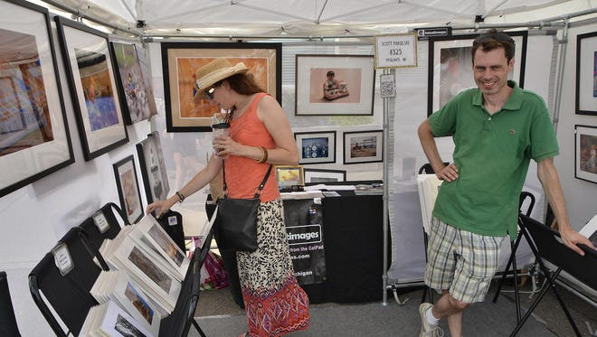 You name the medium, you are likely to find it among the 400 artists headed for Art in the Park.