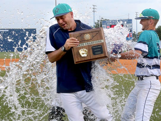 Siegel baseball coach Craig Reavis led the Stars to