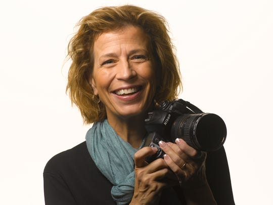 Annie Griffiths, one of National Geographic's first female photographers, will speak Monday during the Imagine Solutions conference on Monday.