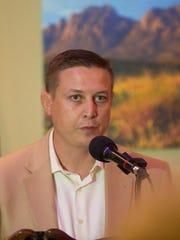 Ben Gabriel, executive director of Friends of Organ