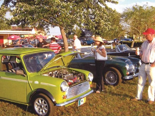 The British Car Owners' Ice Cream Social will be held Saturday at 5 Points Custard in Buena.