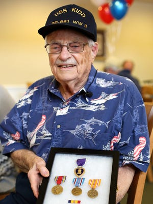 World War II veteran John Butler.