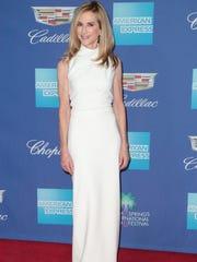 Holly Hunter arrives at the Palm Springs International Film Festival, January 2, 2017.