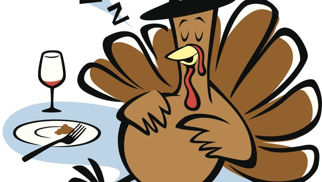It's not the tryptophan in the turkey that encourages a Thanksgiving nap. It's the whole meal.