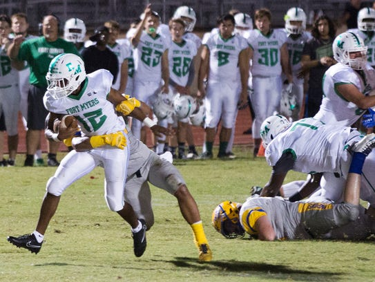 Fort Myers High School's Willie Neal gains a first