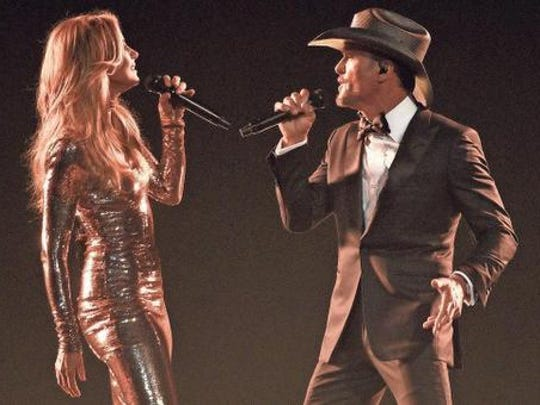 Tim McGraw and Faith Hill will play Bon Secours Wellness Arena on Sept. 15.