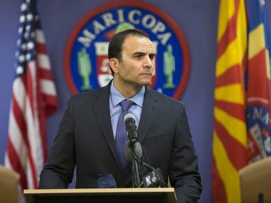 Sheriff-elect Paul Penzone