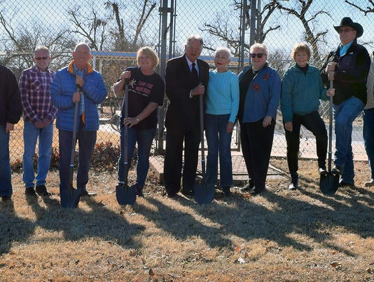 Camp Fire Pool Groundbreaking