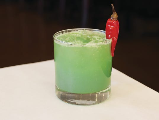 Green Chile Cucumber Gimlet