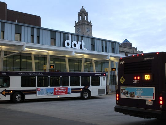 The DART Central Station.