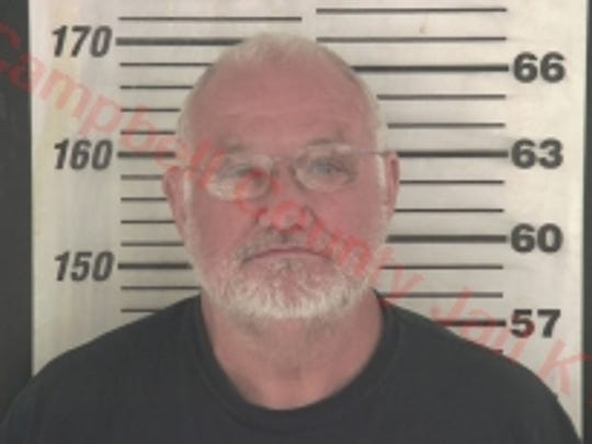 Tim Nolan's booking photo from the Campbell County