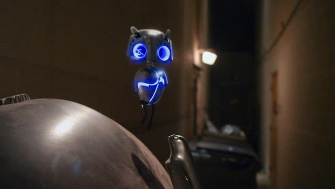 """Meet ECHO, a small alien who has become stranded on Earth in """"Earth to Echo."""""""