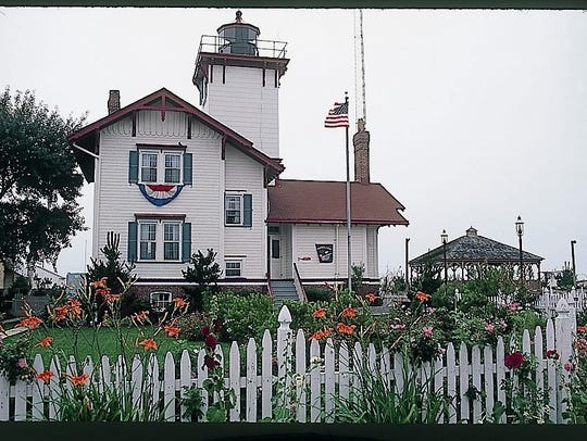 Hereford Inlet Lighthouse.