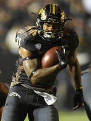 Western Michigan Broncos running back Jarvion Franklin