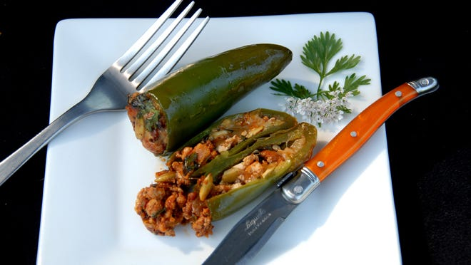 Punch up your Memorial Day cookout with grilled stuffed jalapenos.