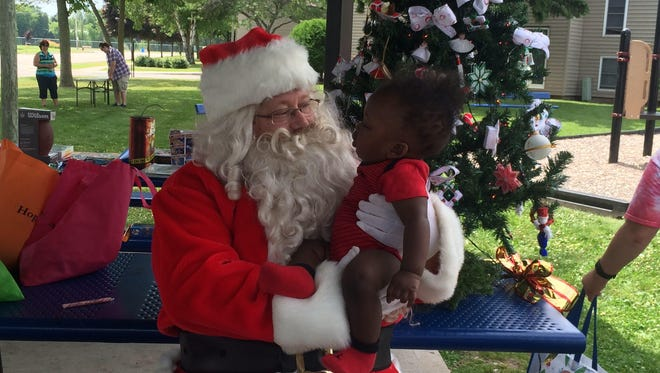 The Learning Center at Southfield Townhouses hosted its Christmas on the Farm event last weekend.