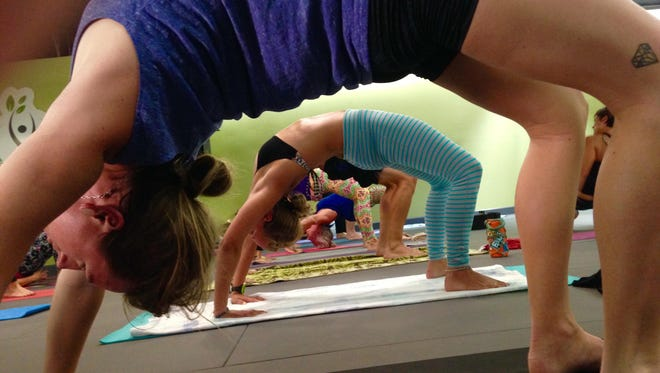 No matter where you are on your fitness journey, there's a place for you in yoga class.