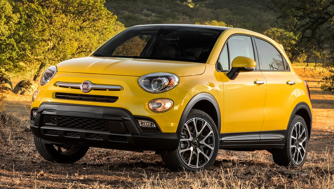 economical versatility 2016 fiat 500x crossover. Black Bedroom Furniture Sets. Home Design Ideas