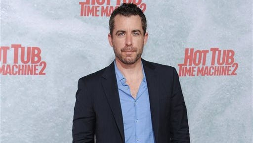 """In this file photo, Jason Jones arrives at the LA Premiere of """"Hot Tub Time Machine 2"""" held at the Regency Village Theater in Los Angeles. Jones will be leaving """"The Daily Show with Jon Stewart"""" later this year to begin production on his new series. Samantha Bee will remain with the show."""