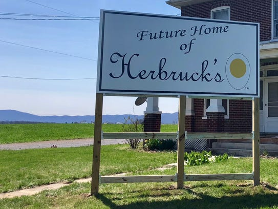 Herbruck's Poultry Farm recently put up a sign on the
