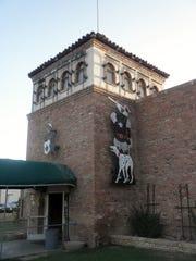 Castle Sports Club is shown in 2013.