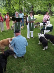 The outdoor summer service at Congregational Church of Birmingham UCC permits pets and will include a pet blessing on June 17.