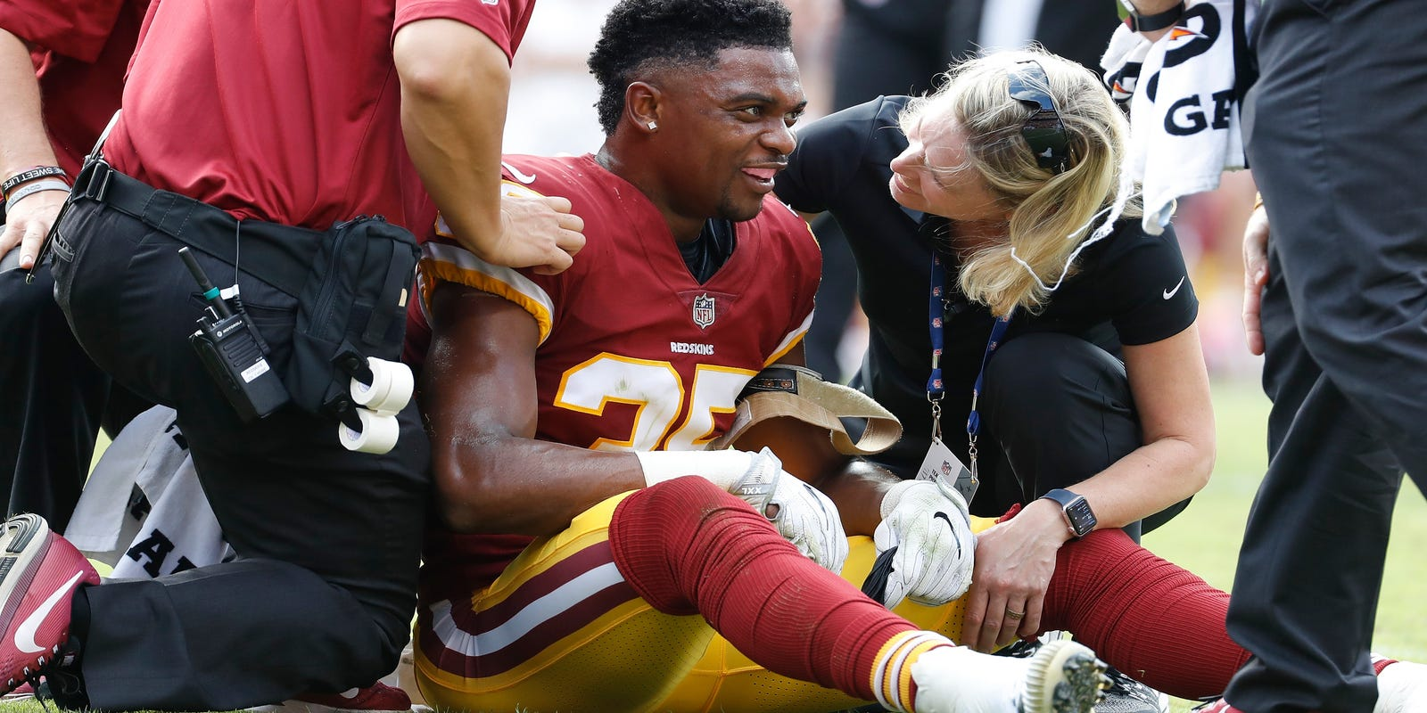 Redskins  Nicholson placed on non-injury list 0d5be0d5e