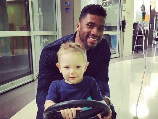 a-calvin and russell wilson