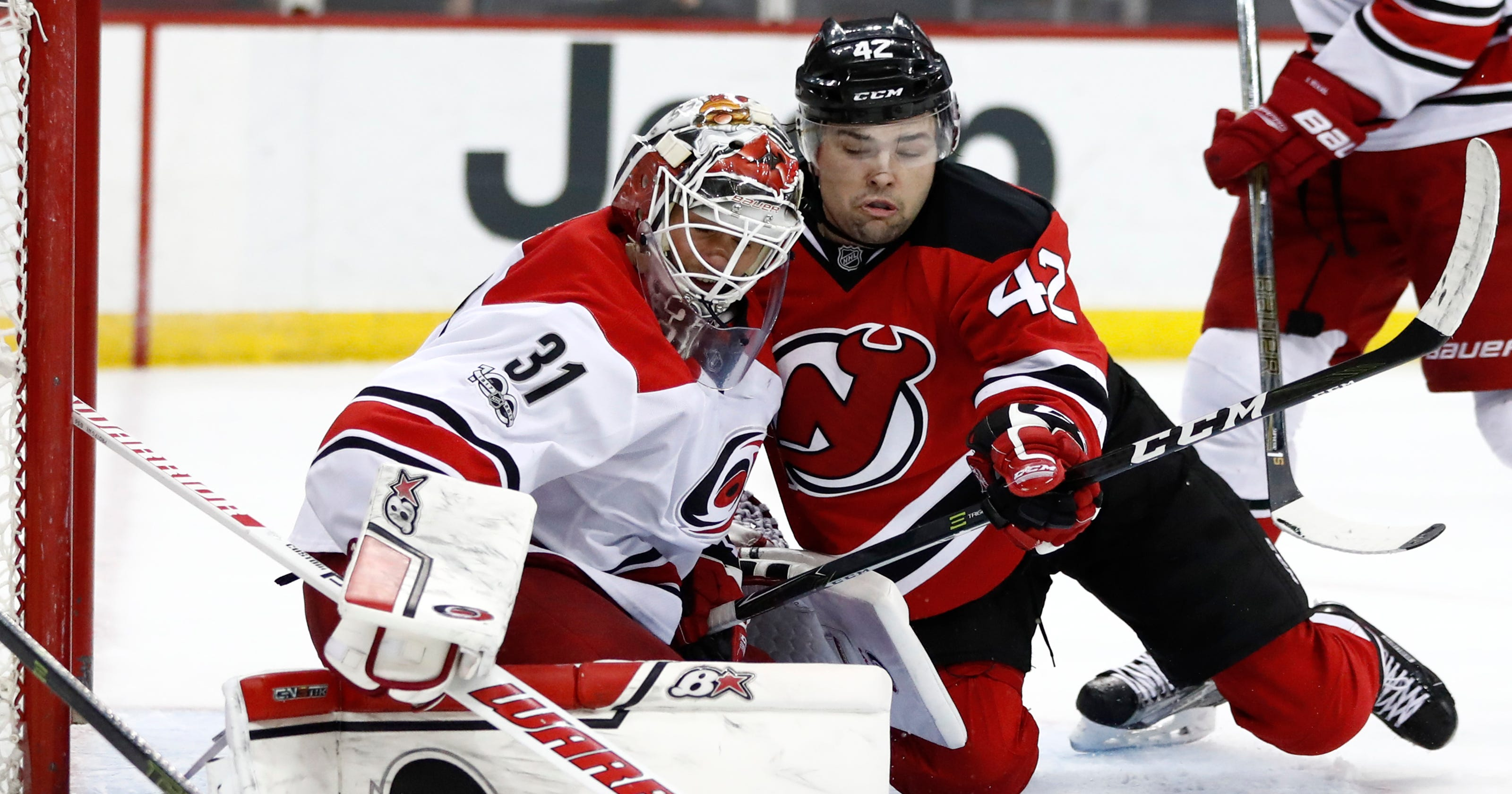 NJ Devils  John Quenneville to make season s debut against Flames f0ed38ba7