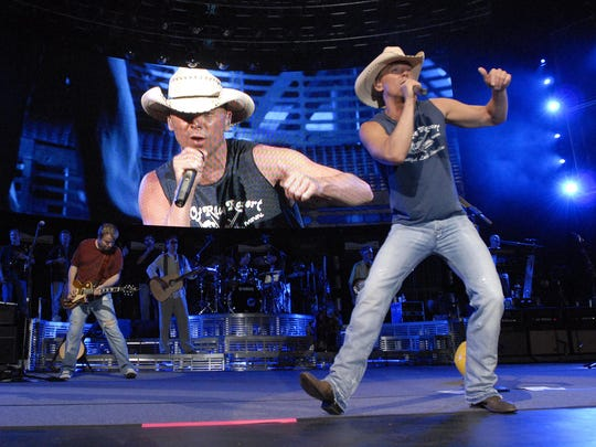 Kenny Chesney, usually summer's biggest concert draw, returns to CMAC Wednesday, July 8.
