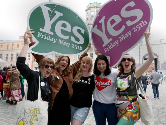 IRELAND-ABORTION-REFERENDUM