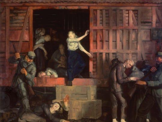 George Wesley Bellows (1882-1925) is the artist behind