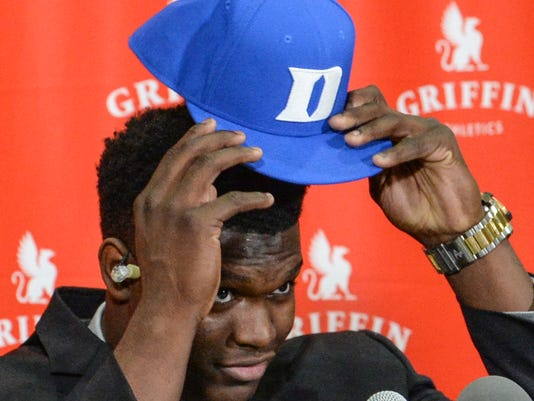 Zion Williamson choice