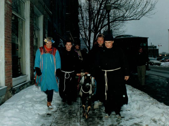 Pictured is the first Bockfest parade in 1993.