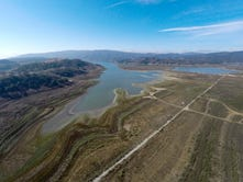 Boat ramps at Lake Casitas have been moved several times over the past few years as water levels in the lake decrease with the ongoing drought.