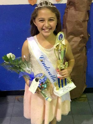 Makenzie Wilson, 10, of Ruidoso won the Cinderella Scholarship Pageant for Otero and Lincoln County in her age division.