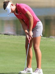 Avalon Woodward competes in the Desert Valley League