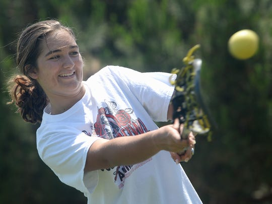 Sydney Bumbarger helped lead a remarkable turnaround for the Newbury Park girls lacrosse team.