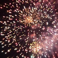 Fourth of July fireworks display in Pittsville