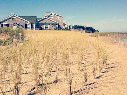 Cape Cod Bay Beach on a recent long weekend trip to the region.