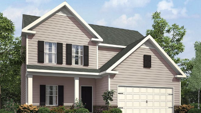 A home LGI Homes built in Georgia. The company plans to build that same floor plan in Murfreesboro.