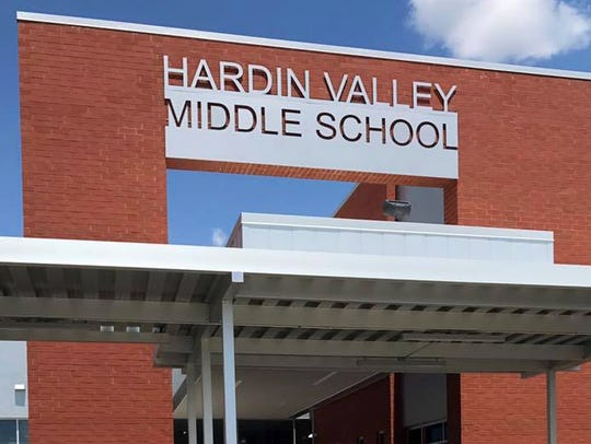 Hardin Valley Middle School will welcome around 900