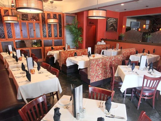 View of a dining area at Varanese in Louisville, KY. Aug. 22, 2014