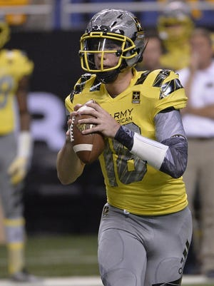Brandon Peters played in the U.S. Army All-American Bowl in January. He already has enrolled at Michigan and feels comfortable in Ann Arbor.