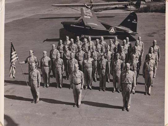 CAP at Cleveland municipal airport during WWII