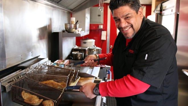 Carlos Serrano, The Empanada Guy, will serve his signature dish in Belmar this summer.