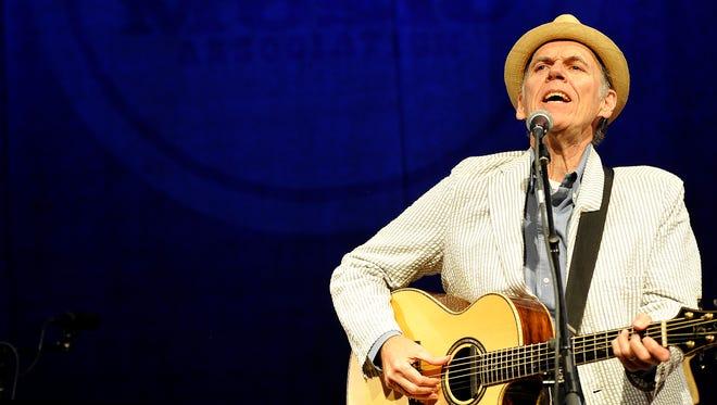 John Hiatt will perform Sunday at Ryman Auditorium.