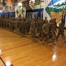 Fort Carson soldiers return