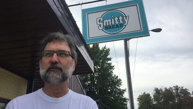 """David Smith opened Smittybread, 415 S. Fourth St., in August. Son of Howard """"Smilin' Smitty"""" Smith, founder of Smitty's Foodliner, Smith resurrected the logo of the grocery store for his bread shop."""